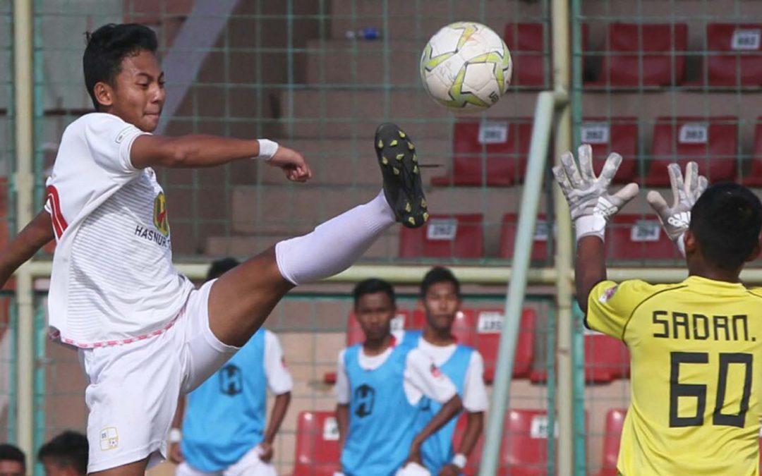 Dua Gol Subhan Fajri Menangkan Barito Putera U16