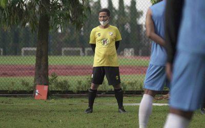 Patuhi Prokes, Barito Putera Gelar Latihan Perdana Secara Tertutup